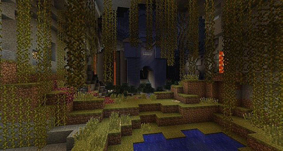 Complete the Monument in Minecraft