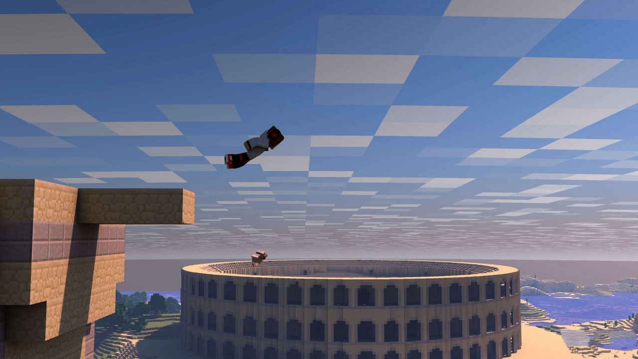 Minecraft Parkour