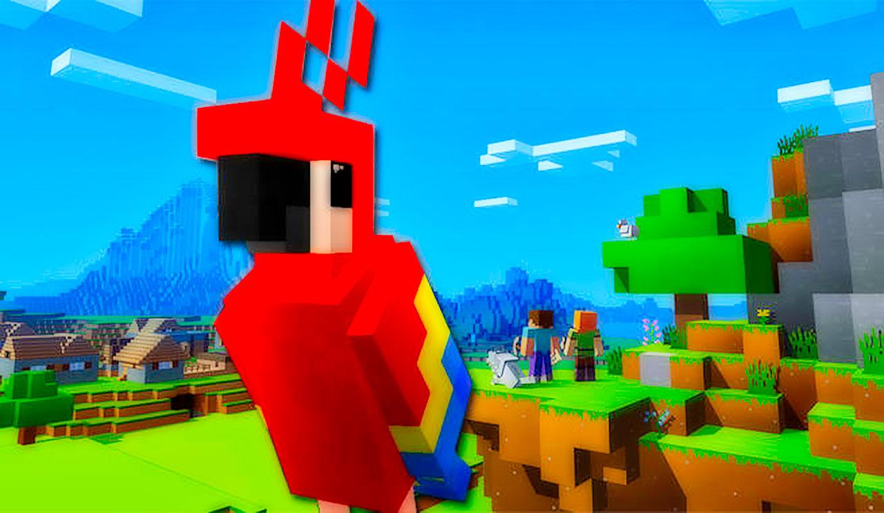 Minecraft Parrot